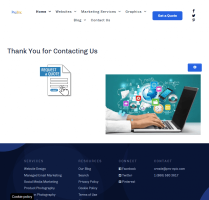 Safari Website Presentation