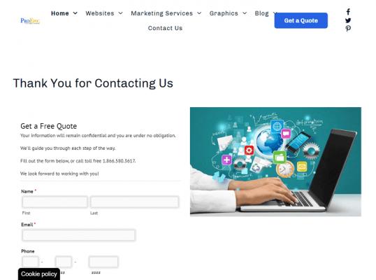 Chrome Website Presentation